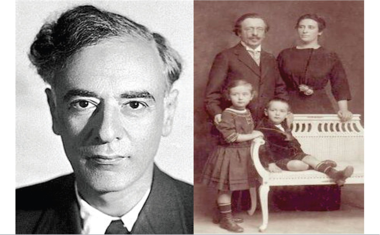 Viện sĩ Lev Davidovich Landau (1908 -1968) và Gia đình (1910)
