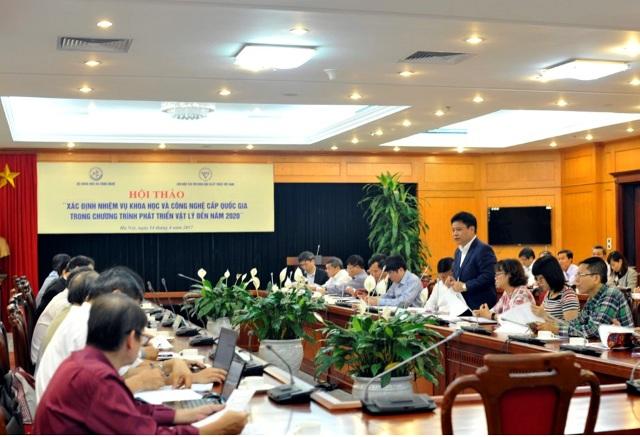 Toàn cảnh phiên Hội thảo tại Bộ Khoa học và Công nghệ